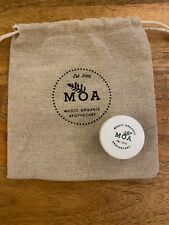 MOA Cleansing Balm In Hemp Drawstring Bag ORGANIC NATURAL 15ML TRAVEL SIZE