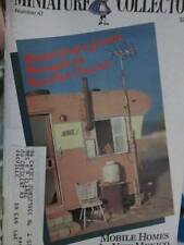 Miniature Collector #47 Jan/Feb 1985 Magazine-Sampler/Doll Kit Part I/Sleigh Pro
