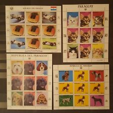 Briefmarken Paraguay LOT 20 ZD..,postfrisch