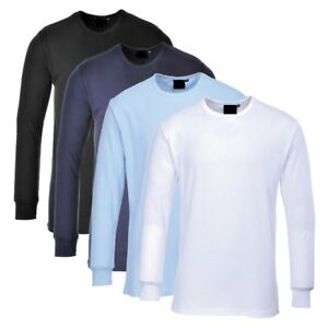 NEW MENS THERMAL LONG SLEEVED VESTS TOPS EXTRA WARM WINTER T-SHIRTS TOPS