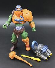 He-Man  Masters of the Universe 200X BATTLE GLOVE MAN AT ARMS Near Complete MOTU