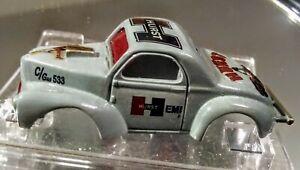 AURORA model Motoring Willys Gasser Gray HURST HO NEW body only