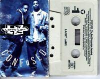 Larry Lar Confused Keep On Yall 1991 Cassette Tape Single Rap Hiphop