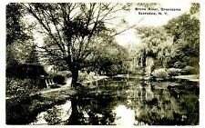 Scarsdale NY -BRONX RIVER AT GREENACRES- Postcard