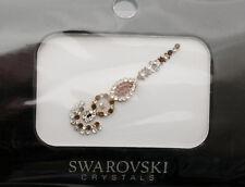 Bindi bijoux de peau mariage front strass cristal Swarovski ambre ING C  3675