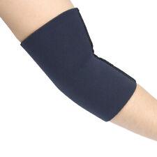 Neoprene Elbow Sleeve Support Brace for Swelling Strains Bursitis Tendonitis Blk