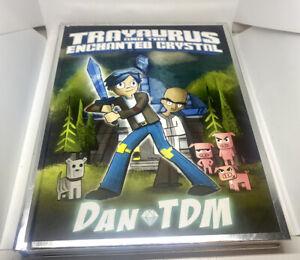 Trayaurus And The Enchanted Crystal Signed DanTDM. UK Tour 2016