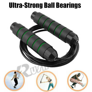 Jump Rope Skipping Aerobic Exercise Boxing Adjustable Bearing Speed Fitness Gym