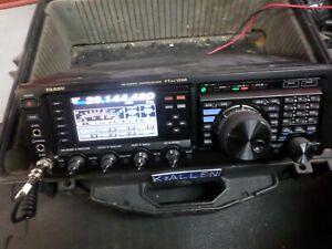 Yaesu FT DX 1200 Ham Radio Transceiver with Case