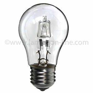 Low Energy Halogen Light Bulb GLS 28W ES