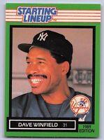 1989  DAVE WINFIELD - Kenner Starting Lineup Card - SLU - NEW YORK YANKEES