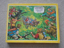 ROBIN HOOD vintage children's wooden jigsaw puzzle VICTORY ADVENTURE SERIES 1978