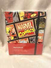 Marvel Comics Memo Pad With Pen New
