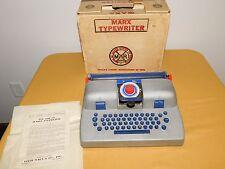 VINTAGE MARX TOYS TYPEWRITER IN BOX NOT WORKING.. NEEDS RIBBON