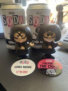 Funko SODA - Incredibles - Edna Mode Vinyl Soda Set Of 2 (Chase + Common)
