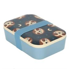 Sidney Sloth Bamboo Lunch Box - Brand New