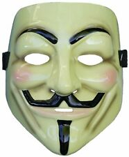 V FOR VENDETTA MASK Costume DELUXE Guy Fawkes Anonymous LICENSED Collectable Box