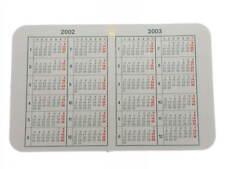 Calendario Rolex anno 2002 2003 originale   Rolex calendar year 2002 genuine