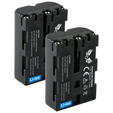 2x SK Akku für Sony NP-FM500H | 1650mAh |1056015| DSLR-Alpha 500 850 900 SLT-A65