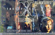 TRADING CARDS 1 BOITE DE 36 BOOSTERS THE X FILES SEASON TWO