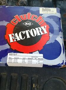 KG112-7 Clutch Factory H/P Disc Set For Yamaha V-Star 650 WR YZ 250