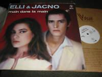 """Elli et & and Jacno 12"""" ep main dans la / atomique rare synth wave french 1980"""