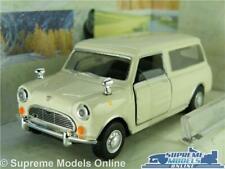 AUSTIN MORRIS MINI TRAVELLER MODEL CAR VAN 1:43 SCALE CARARAMA CREAM ESTATE K8