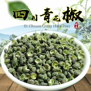 2020 New Sichuan Green Pepper Whole Dried Hanyuan Peppercorn