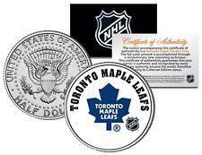 TORONTO MAPLE LEAFS NHL Hockey JFK Half Dollar U.S. Coin - OFFICIALLY LICENSED
