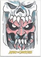 Army of Darkness (2005) ~ KEN HAESER Sketch Card (Dealer Incentive) Deadite Capt
