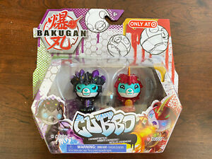 BAKUGAN Target Exclusive Cosplay DRAGO And NILLIOUS CUBBO 2-Pack