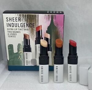 Bobbi Brown Sheer Indulgence Extra Lip Tint Trio set