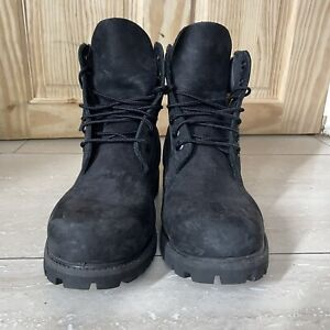 Black Timberland Boots (Excellent Condition)