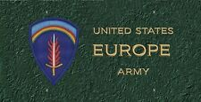 United States Army Europe (USAEUR) License Plate -LP330