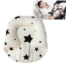 Baby Pillow for Newborn Breathable 3D Air Mesh Fiber-filled,Head Shape Pillow