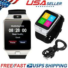 USA DZ09 Bluetooth Smart Watch GSM SIM for iPhone Samsung LG Android Phone Mate