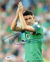 Robbie Keane signed 8x10 photo PSA/DNA Ireland Soccer