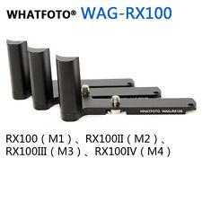 WHATFOTO WAG-RX100 Sony black card RX100 M1 M2 M3 M4 metal non-slip grip