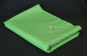 """Cotton Polyester Broadcloth Fabric 44"""" Wide x 12 Yards Kelly Green Solid"""