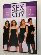 Sex and the City DVD serie TV stagione 1 vol. 1  (i primi 4 episodi)