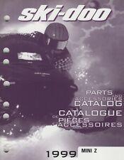 1999 Ski-Doo Snowmobile Mini Z Parts & Accessories Manual 484 400 010 (276)