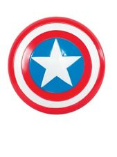 "12"" Captain America Shield Fancy Dress Book Week Superhero Accessory"