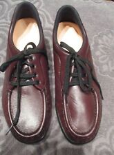 NEW SAS  Women's Brown Leather Oxford Lace-up Tripad Comfort Shoes 8S USA MADE