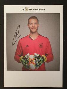 Autogrammkarte Manuel Neuer Gunstig Kaufen Ebay