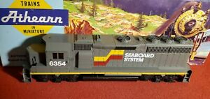 Ho Scale SEABOARD SYSTEM 6354 GP-40 2 PWR Athearn 4706 NEW lot t560