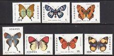 Angola 1982 Butterflies set fine fresh MNH