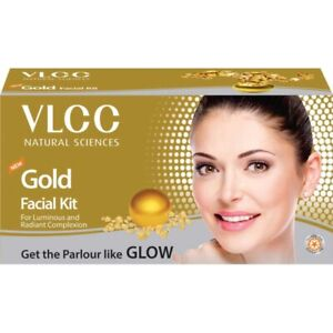 VLCC Gold Facial Kit || For Luminous & Radiant Complexion 60mg -UK