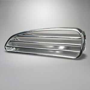 1960-1974 Volkswagen Karmann Ghia Fresh Air Grille LH Polished Aluminum 327786
