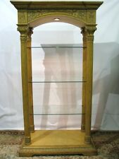 """Drexel Heritage """"Legacy"""" Collection Illuminated Bookshelves/Etagere, Handcarved"""
