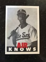 RARE MICHAEL JORDAN BASEBALL ROOKIE PROMO SP $80 NMMT AIR KNOWS BULLS WHITE SOX